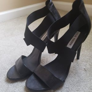 Steve Madden Strappy Sandals - Black